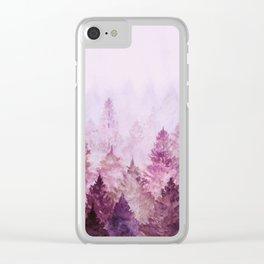 Fade Away II Clear iPhone Case