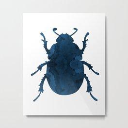 Beetle Scarabaeus Metal Print