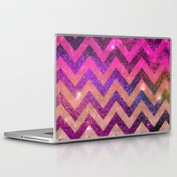 chevron Laptop & iPad Skins featuring  CHEVROn by Monika Strigel
