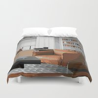 read Duvet Covers featuring Read by JuniqueStudio