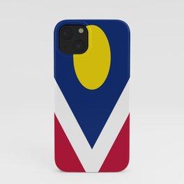 flag of denver iPhone Case