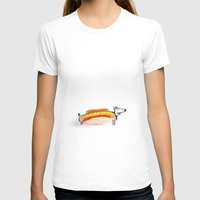 hot dog T-shirts featuring Hot Dog by Ana Sofia Santos