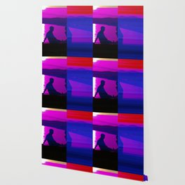 Real Glitch Effect Lovers in Nice French Riviera Wallpaper