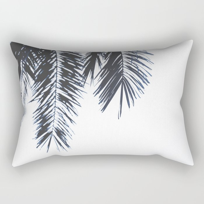 Palm Tree leaves abstract Rectangular Pillow