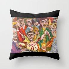 All That Jazz #1 Throw Pillow