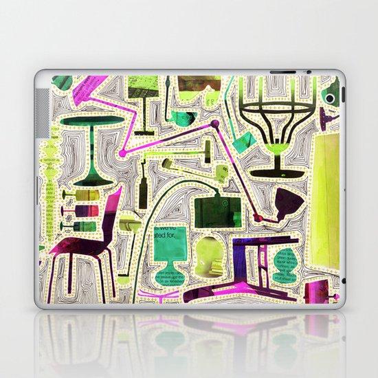 Modern Furniture Collage Laptop & iPad Skin