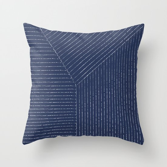 Lines / Navy by summersunhomeart
