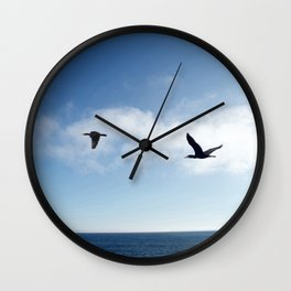 The Common Cormorant (or Shag) Wall Clock