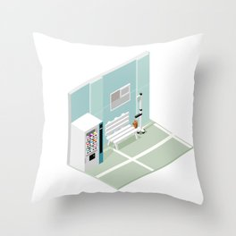 BTS - Isometric Love Yourself Throw Pillow