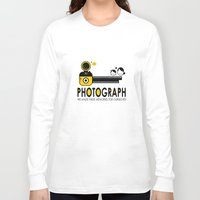 photograph Long Sleeve T-shirts featuring PHOTOGRAPH by Ain Rusli