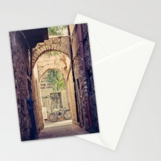 Jerusalem Alley with Bicycle Stationery Cards