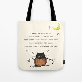 Witch Advice Tote Bag