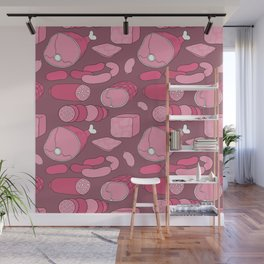 All meat a real treat... Wall Mural