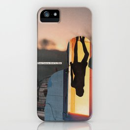 if breaking up was for the best, why does it feel like i can't live without him anymore? iPhone Case