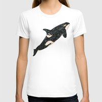 killer whale T-shirts featuring Killer Whale by Ben Geiger