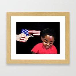 AMERIKKKA Framed Art Print