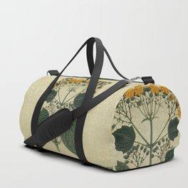 """Bouquet of vintage wild flowers"" Duffle Bag"