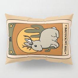 The Jackalope - Cryptid Tarot Card Pillow Sham