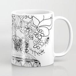 Conservatory of succulent - Black Coffee Mug