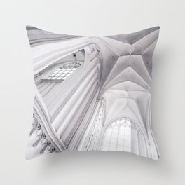 Step into the Nether(lands) Throw Pillow