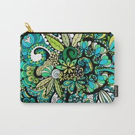 Tropical Illusion Carry-All Pouch