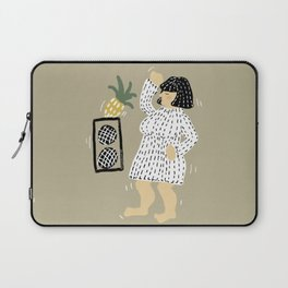 Woman dancing with pineapple Laptop Sleeve