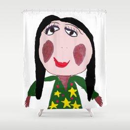 Mother Liana Shower Curtain