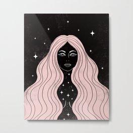 Night Goddess Metal Print