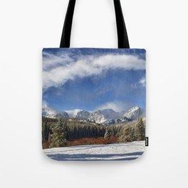 Rocky Mountain Park  by Lena Owens Tote Bag