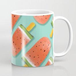 Watermelon Popsicles Pattern #society6 #decor #buyart Coffee Mug