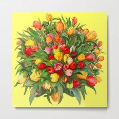 Tulip Bouquet Metal Print
