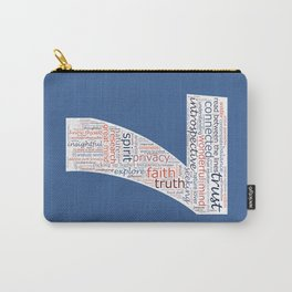 Life Path 7 (color background) Carry-All Pouch