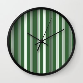 vertical parallel lines Wall Clock