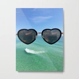 Heart Emoji Metal Print