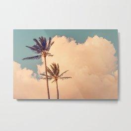 Palms Away - Study 4 Metal Print