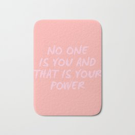 that is your power Bath Mat