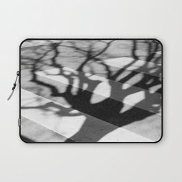 zebra crossing, tree shadow Laptop Sleeve