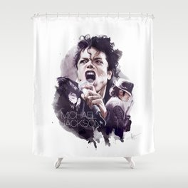 MJ Shower Curtain