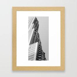 Geometry and Ghery  Framed Art Print