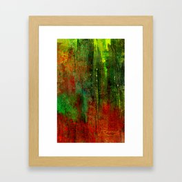 The Red Carpet Framed Art Print