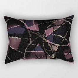 Abstract mosaic pattern Rectangular Pillow