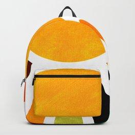 Sun Retro Art Backpack