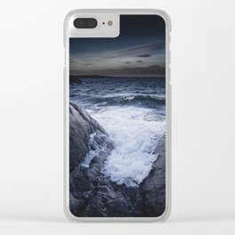 Crashing memories Clear iPhone Case