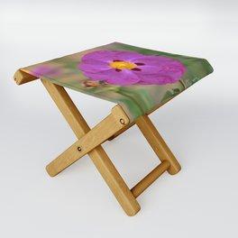 Lynda Anne Art Flower Folding Stool