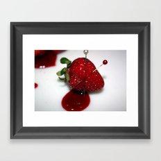 Bleed (1) Framed Art Print