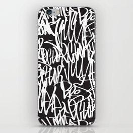Graffiti illustration 07 iPhone Skin