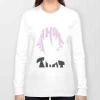 soul eater Long Sleeve T-shirts featuring crona soul eater  by Rebecca McGoran