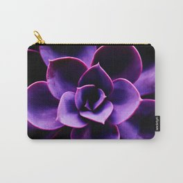 Ultraviolet Succulent Plant #decor #society6 #homedecor Carry-All Pouch