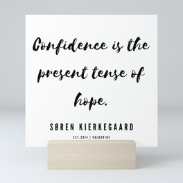 8       Søren Kierkegaard Quotes   190523 Mini Art Print