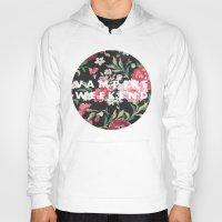vampire weekend Hoodies featuring Vampire Weekend Floral logo by Elianne